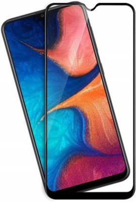 Roochyam Edge To Edge Tempered Glass for Samsung Galaxy M21(Pack of 1)