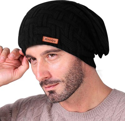 Knotyy Solid beanie, winter Cap