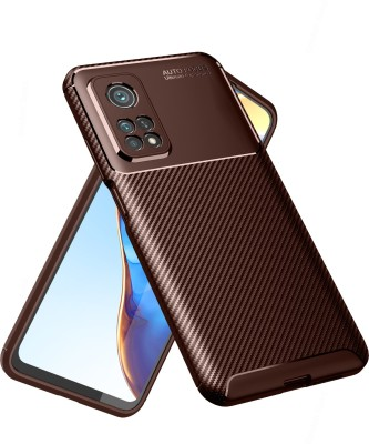 Golden Sand Back Cover for Xiaomi Mi 10t Pro, Mi10T(Brown, Shock Proof)