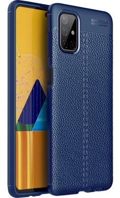 Golden Sand Back Cover for Samsung Galaxy M51(Blue, Shock Proof)