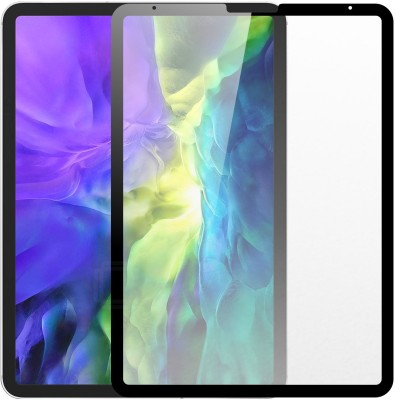 Case Creation Edge To Edge Tempered Glass for New Apple iPad Pro (11-inch Matte Glass(Pack of 1)