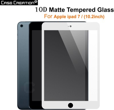 Case Creation Tempered Glass Guard for Apple iPAD 7 10.2 inch Tempered Glass(Pack of 1)