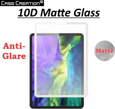 Case Creation Tempered Glass Guard for Apple iPAD Pro 11 inch 2020 Anti-Glare,Anti Fingerprint Tempered Glass Screen Protector(Pack of 1)