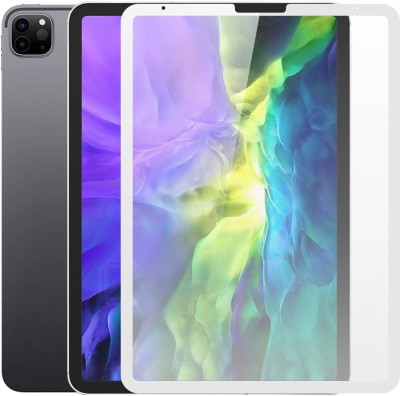 Case Creation Tempered Glass Guard for iPAD Pro 11 inch Premium 3D Matte Glass Cover(Pack of 1)