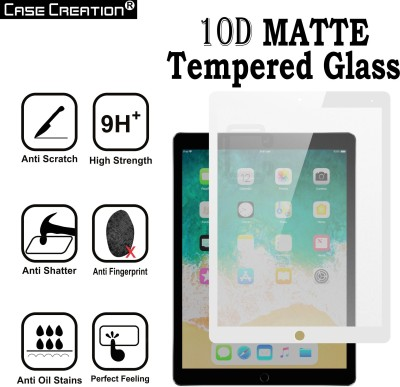 Case Creation Tempered Glass Guard for Apple iPAD Pro 12.9 inch Matte Tempered Glass(Pack of 1)