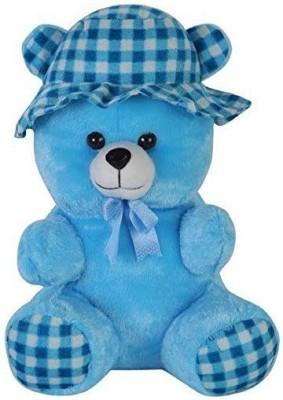 ARMS ENTERPRISES Blue Color Teddy Bear   22 inch Blue ARMS ENTERPRISES Soft Toys