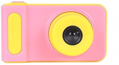 BabyTiger Mini Digital Camera for Kids with Expandable Memory - Blue/Yellow Kids Camera Point & Shoot Camera(Pink-Yellow)