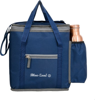 Blue Zone TIFFIN COVER Waterproof Lunch Bag Blue, 20 L