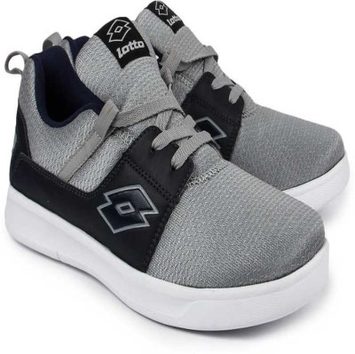 Lotto STRING Running Shoes For Men Silver Lotto Sports Shoes