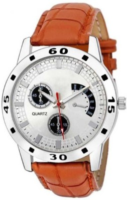 MR NUN PX SRK 237-WH-BR NEW ARRIVAL FAST SELLING TRACK DESIGNER WATCH FOR PARTY_PROFESSIONAL_DIWALI_FESTIVAL SPECIAL WATCH FOR MAN Analog Watch...