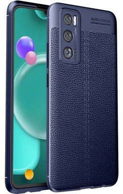Golden Sand Back Cover for Vivo V20 SE(Blue, Shock Proof)