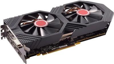 XFX AMD/ATI GTS XXX Edition RX 580 4GB OC+ 1386Mhz DDR5 W/Backplate 3xDP HDMI DVI Graphic Cards RX-580P4DFD6 4 GB...
