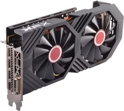 XFX AMD/ATI Radeon RX 580 GTS Black Edition 1405MHz OC+, 8gb 256bit GDDR5, DX12 VR Ready, Double Dissipation, Dual BIOS,...