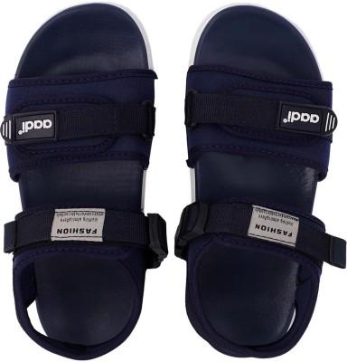 Aadi Men Blue Sports Sandals