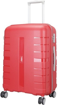 VIP vouger 4w str 65 red Expandable Check in Luggage   24 inch VIP Suitcases