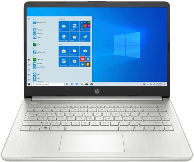 HP 14s Ryzen 5 Quad Core 3450U - (8 GB/512 GB SSD/Windows 10 Home) 14s-fr0012AU Thin and Light Laptop(14 inch, Natural Silver, 1.46 kg, With MS Office)