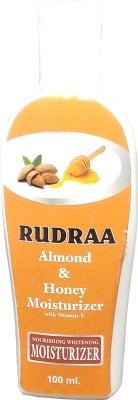 Rudraa Almond And Honey With Vitamin E Nourishing Body Moisturizer, For Normal to Dry Skin 100ml(100 ml)