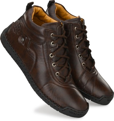 Rising Wolf Boots For Men(Brown)