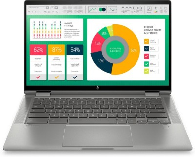 HP Chromebook x360 Core i3 10th Gen - (8 GB/128 GB EMMC Storage/Chrome OS) 14c-ca0005TU 2 in 1 Laptop(14 inch,...