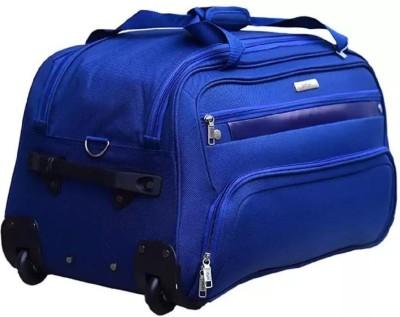 SAFARI POWER 70 RL NAVY BLUE Duffel With Wheels  Strolley  SAFARI Duffel Bags