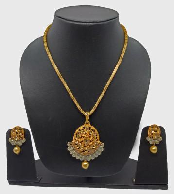Eunoia Alloy Jewel Set(Gold, Silver)