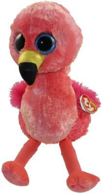 TY Toys Gilda   Pink Flamingo Medium Beanie Boo   24 cm Multicolor TY Toys Soft Toys
