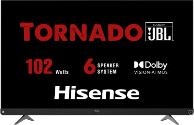 Hisense A73F 139cm (55 inch) Ultra HD (4K) LED Smart Android TV with 102W JBL 6 Speakers, Dolby Vision and Atmos(55A73F)