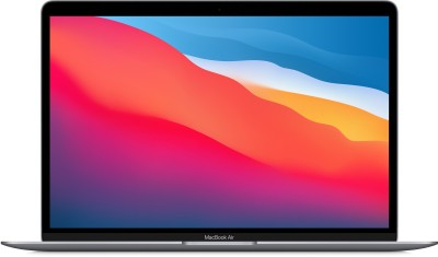 APPLE MacBook Air M1 - (8 GB/256 GB SSD/Mac OS Big Sur) MGN63HN/A(13.3 inch, Space Grey, 1.29 kg)