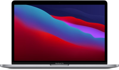 APPLE MacBook Pro M1 - (8 GB/256 GB SSD/Mac OS Big Sur) MYD82HN/A(13.3 inch, Space Grey, 1.4 kg)