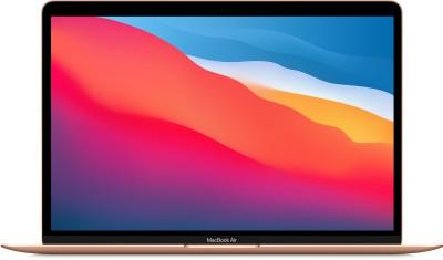 Apple MacBook Air M1 - (8 GB/512 GB SSD/Mac OS Big Sur) MGNE3HN/A(13.3 inch, Gold, 1.29 kg)