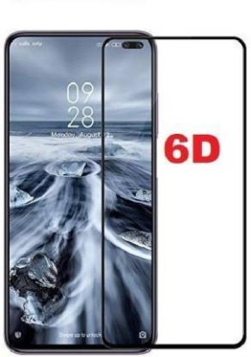 A.S.ENTERPRISES Edge To Edge Tempered Glass for Mi Redmi Note 9 Pro(Pack of 1)