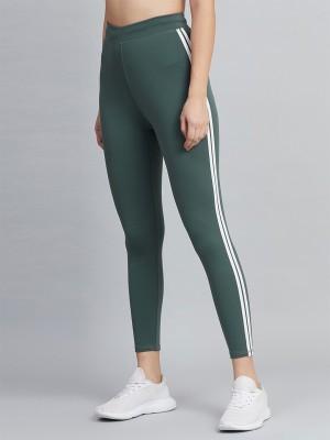 BLINKIN Solid Women Green Tights
