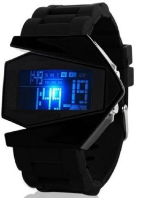 SKMEI ROCKET01 AB Collection With VLW050038 Leather Digital Watch   For Men SKMEI Wrist Watches