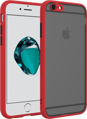 GadgetM Back Cover for Apple iPhone 6 Plus, Apple iPhone 6s Plus(Red, Camera Bump Protector)