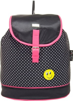 JG Shoppe JGStylePack207 20 L Backpack Black JG Shoppe Backpacks