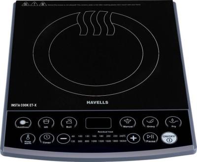 HAVELLS INSTA COOK ET-X Induction Cooktop (Black, Push Button) Induction Cooktop(Black, Push Button)