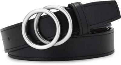 Kastner Women Casual Black Artificial Leather Belt