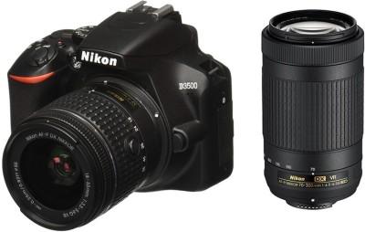 NIKON D3500 DSLR Camera Body with Dual lens: 18-55 mm f/3.5-5.6 G...