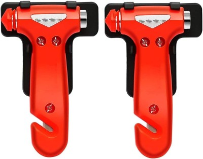carfrill Car Escape Tools Safety Hammer Seatbelt Cutter Emergency Glass Window Punch Breaker for Survival Escape Life-Saving Hammer Tool 2...
