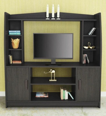 Nilkamal Beaumont Engineered Wood TV Entertainment Unit(Finish Color - Wenge)