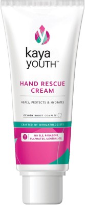 Kaya Youth Hand Rescue Cream,Heals,Hydrates,Protects Dry Skin(50 g)