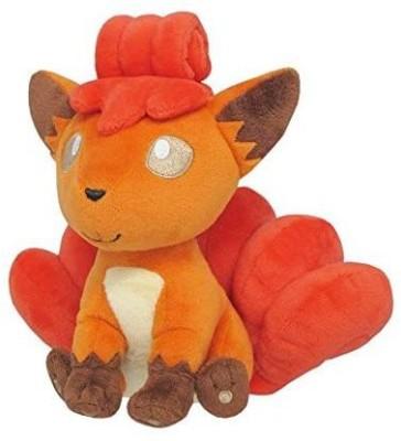 Sanei Pokemon All Star Collection Vulpix Stuffed Plush Toy, 7\ Multicolor Sanei Soft Toys