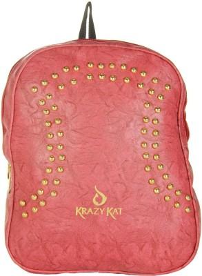 JG Shoppe JGTrendy151 6 L Backpack Red JG Shoppe Backpacks