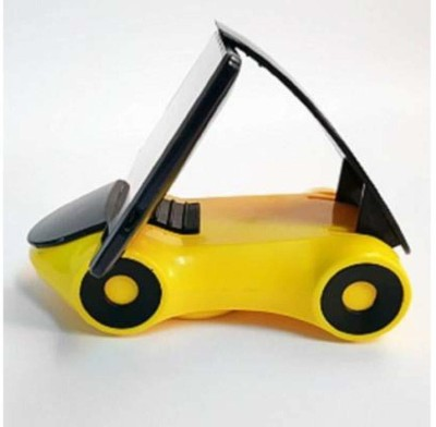 amsik Car Mobile Holder for Windshield, Dashboard Yellow, Black amsik Car Mobile Holders