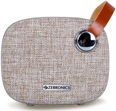 ZEBRONICS Knight Bluetooth Speaker(Brown, 2.0 Channel)