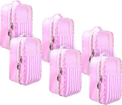 PrettyKrafts Shoe Pouch(Pink)