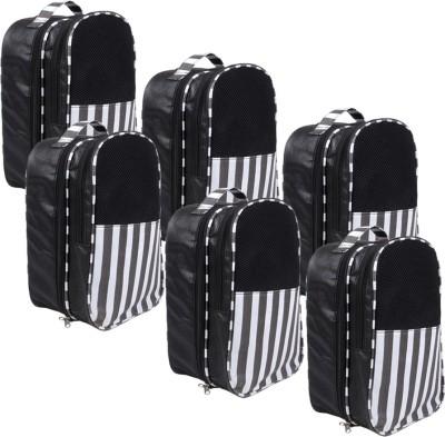 PrettyKrafts Shoe Pouch(Black)