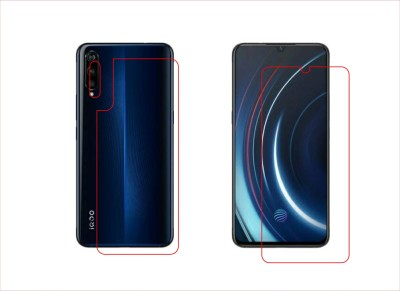BPR Front and Back Screen Guard for Vivo iQOO (8GB RAM + 256GB)(Pack of 3)