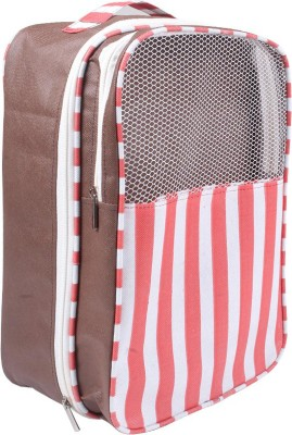 PrettyKrafts Shoe Pouch(Brown)