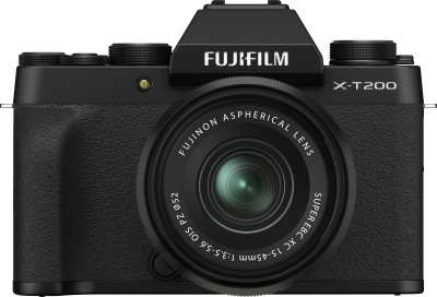 FUJIFILM X Series X-T200 Mirrorless Camera Body with 15-45 mm Lens(Black)